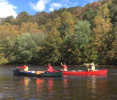 outward bound canoe